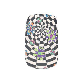 Rainbow Daisies Kaleidoscope Minx ® Nail Art