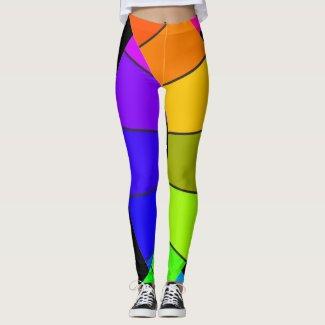 Rainbow Dance Leggings PRIDE LGBQT Dancers Art