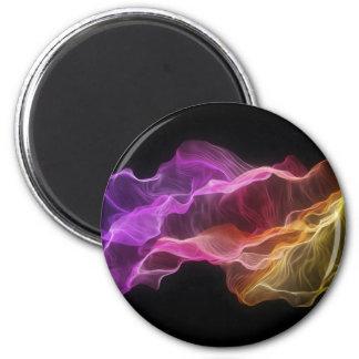 Rainbow_dark 2 Inch Round Magnet