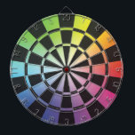 "Rainbow Dartboard 3<br><div class=""desc"">Cool dartboard for the fans of blended color/colour.</div>"
