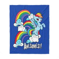 Rainbow Dash | Awesomest! Fleece Blanket