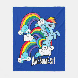 make your own rainbow dash my little pony blanket bundle up in