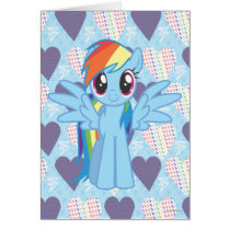 Rainbow Dash Card