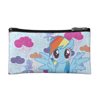Rainbow Dash Cosmetic Bag