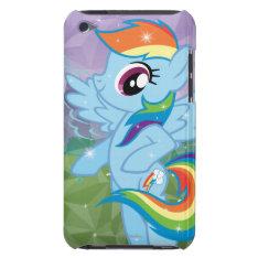 Rainbow Dash Ipod Touch Case at Zazzle