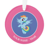 Rainbow Dash Ornament