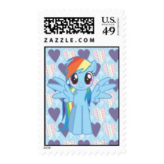 Rainbow Dash Postage