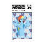 Rainbow Dash Postage Stamp