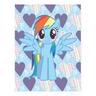 Rainbow Dash Postcard