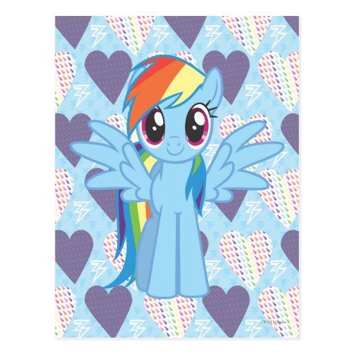 Rainbow Dash Postcards