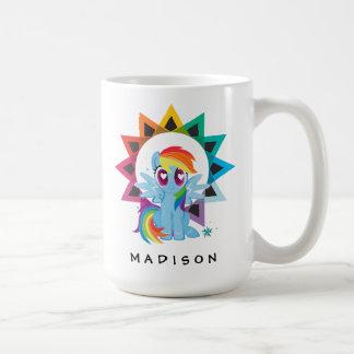 Rainbow Dash   Rainbow Powered Coffee Mug