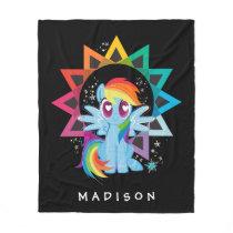 Rainbow Dash | Rainbow Powered Fleece Blanket