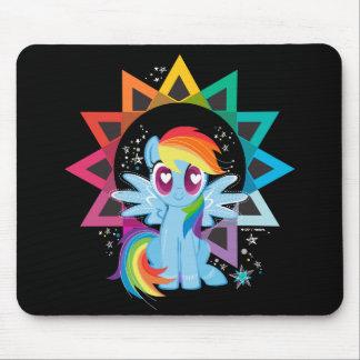 Rainbow Dash | Rainbow Powered Mouse Pad