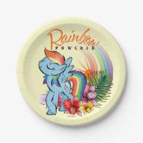 Rainbow Dash | Rainbow Powered Paper Plate