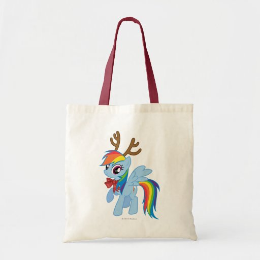 Rainbow Dash Reindeer Bag