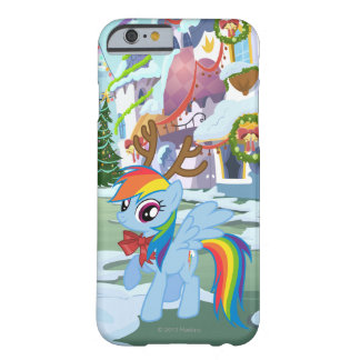 Rainbow Dash Reindeer Barely There iPhone 6 Case