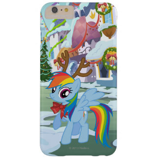 Rainbow Dash Reindeer Barely There iPhone 6 Plus Case