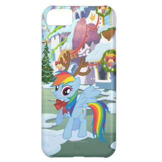 Rainbow Dash Reindeer iPhone 5C Case