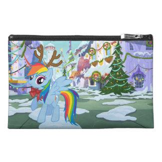 Rainbow Dash Reindeer Travel Accessory Bag