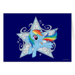 Rainbow Dash Star Card