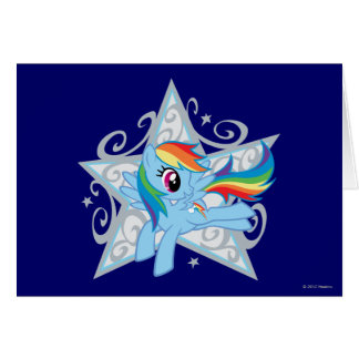 Rainbow Dash Star Card