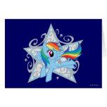 Rainbow Dash Star Cards