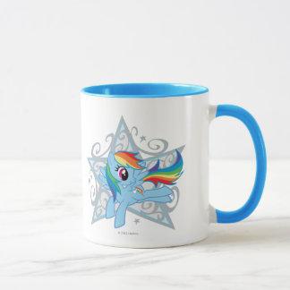 Rainbow Dash Star Mug