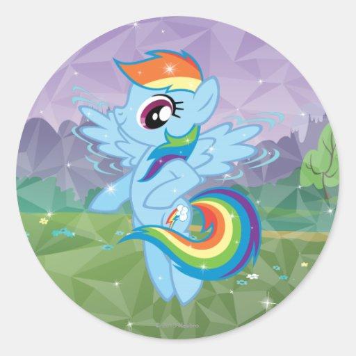 Rainbow Dash Stickers