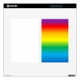 rainbow decal for kindle fire