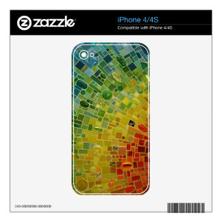 Rainbow Decals For iPhone 4