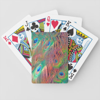 Rainbow Deco Bicycle Playing Cards