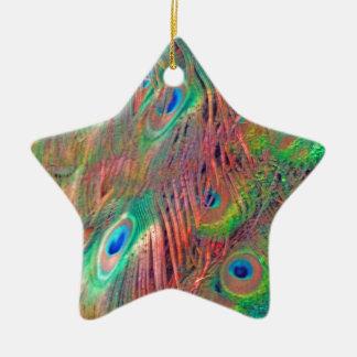 Rainbow Deco Ceramic Ornament
