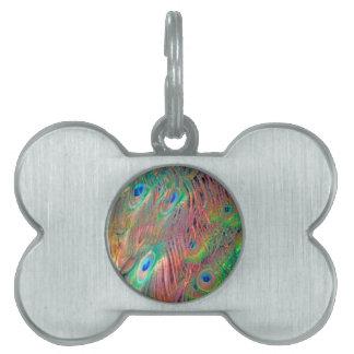 Rainbow Deco Pet ID Tag