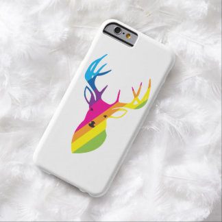 Rainbow deer barely there iPhone 6 case