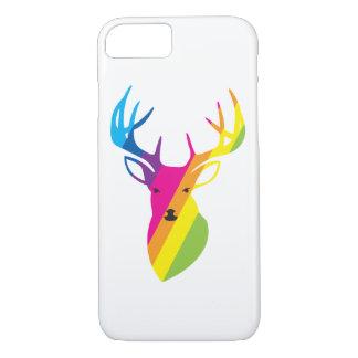 Rainbow deer iPhone 8/7 case