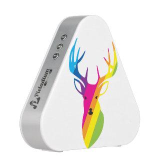 Rainbow deer speaker