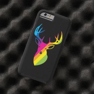 Rainbow deer tough iPhone 6 case