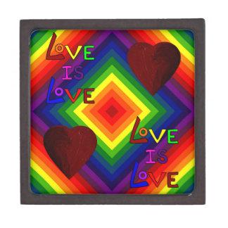 RAINBOW DELUXE: LOVE TRIUMPHANT ~ PREMIUM TRINKET BOXES
