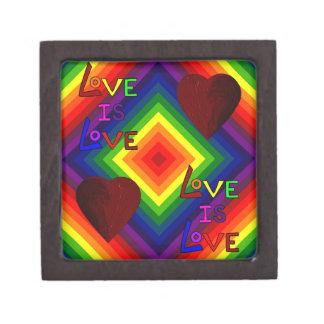 RAINBOW DELUXE: LOVE TRIUMPHANT ~ PREMIUM JEWELRY BOXES