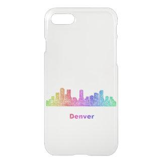 Rainbow Denver skyline iPhone 8/7 Case
