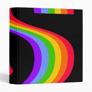 Rainbow Design Binder