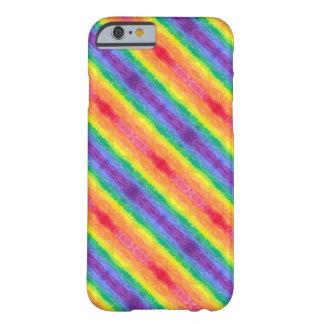 Rainbow Diagonal Stripes iPhone Case