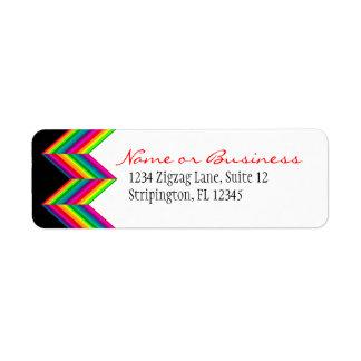 Rainbow Diags Address Label