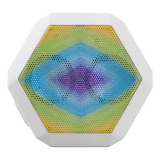 Rainbow Diamond Abstract White Boombot Rex Bluetooth Speaker