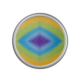 Rainbow Diamond Abstract Speaker
