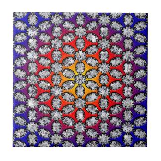 Rainbow & Diamond Beauty Tile
