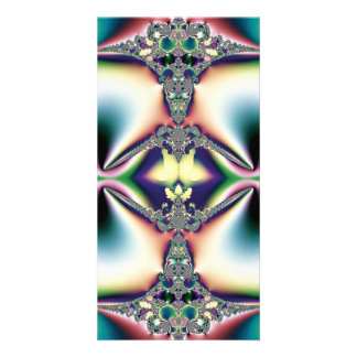 Rainbow Diamond Photo Greeting Card