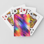 Rainbow Diamonds Playing Cards