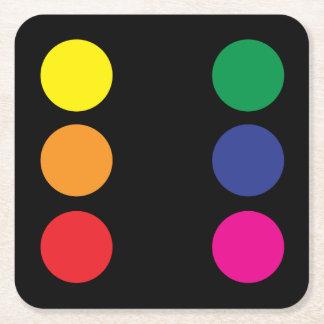 Rainbow Dice Coaster