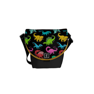 Rainbow Dinosaurs back to school bag